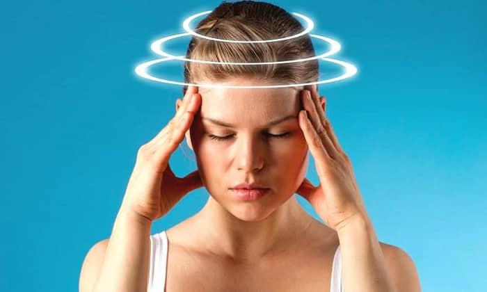 Применение Зорекса может спровоцировать головокружение