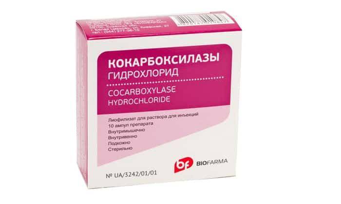 Кокарбоксилаза при лечении рака
