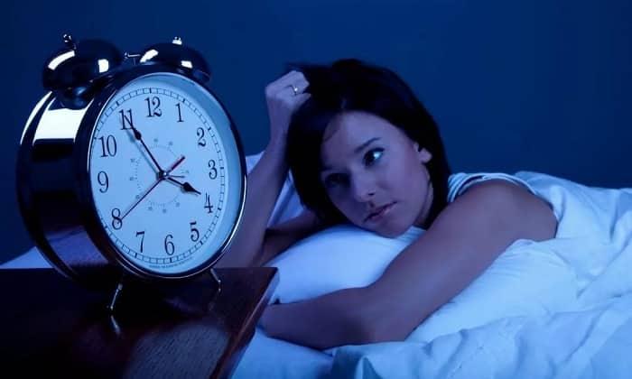 При гиповитаминозе у человека наблюдают нарушение сна