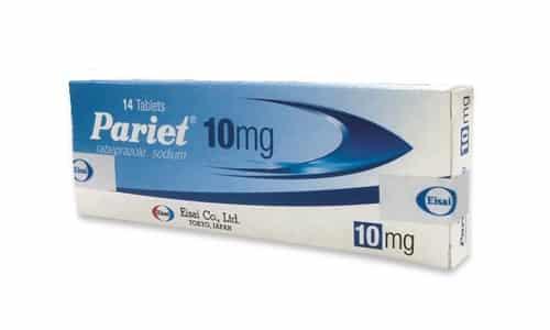 В аптеках может быть представлен под торговым названием Париет