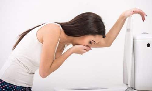 При превышении рекомендуемых доз можно столкнуться с тошнотой и рвотой