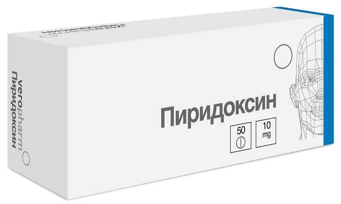 Одна таблетка содержит 10 мг пиридоксин гидрохлорида - это основное действующее вещество препарата