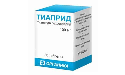 Тиаприд помогает при болях разной этиологии и подавляет агрессию, раздражение и иные психомоторные нарушения, особенно у алкоголиков и пожилых пациентов