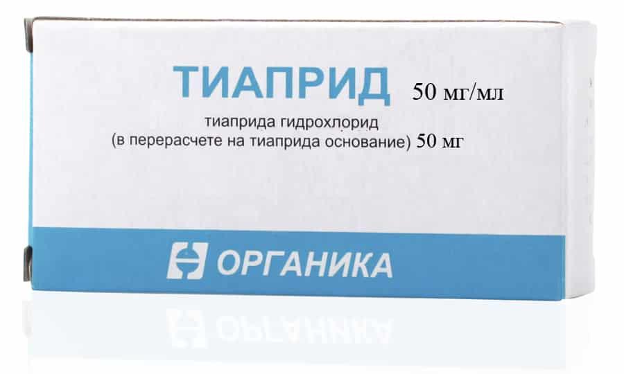 Изначально Тиаприд следует принимать в минимальной дозе
