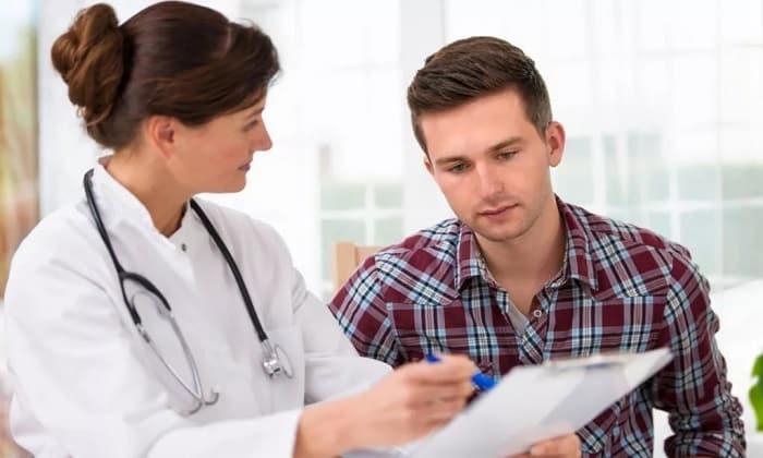 При появлении побочных реакций от приема Гидазепама необходимо срочно обратиться к врачу