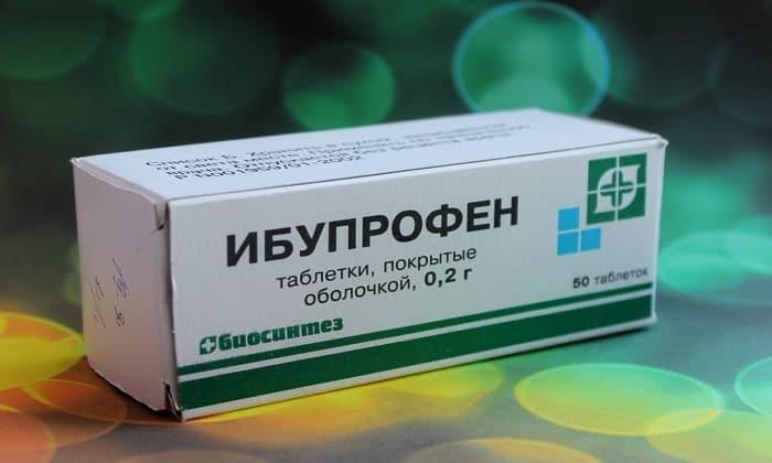 Ибупрофен обладает жаропонижающими и противовоспалительными свойствами
