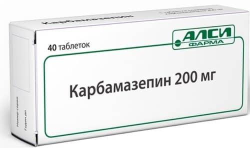 Карбамазепин выпускается в форме таблеток с содержанием 200 мг действующего вещества