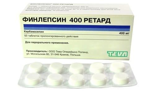 Препарат Финлепсин Ретард 400: инструкция по применению при абстиненции