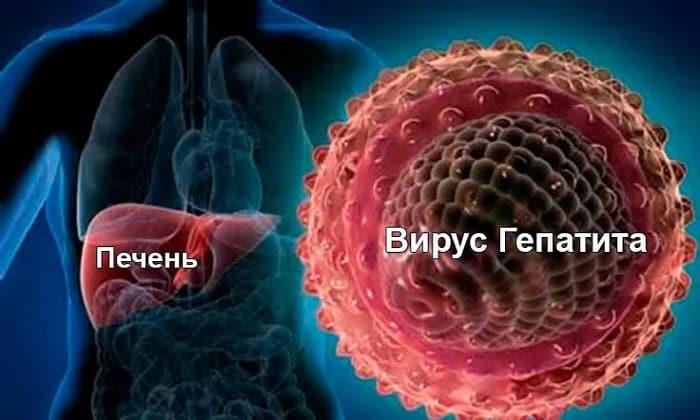 Суппозитории показаны к применению при вирусе гепатита