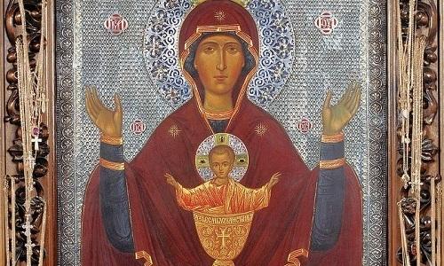 Желающие получить выздоровление от пагубного пристрастия к алкоголю идут в церковь, чтобы вознести молитву иконе «Неупиваемая Чаша»