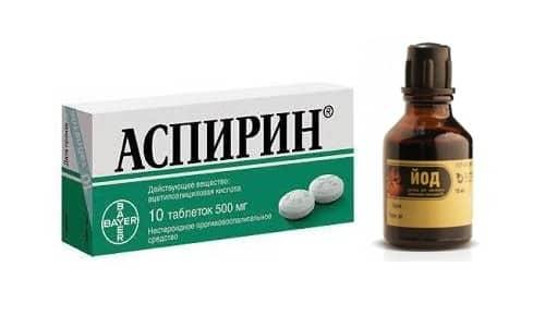 Можно ли принимать вместе Аспирин и Йод?