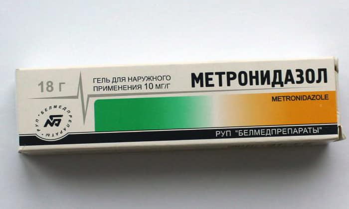 Метронидазол гель: инструкция по применению