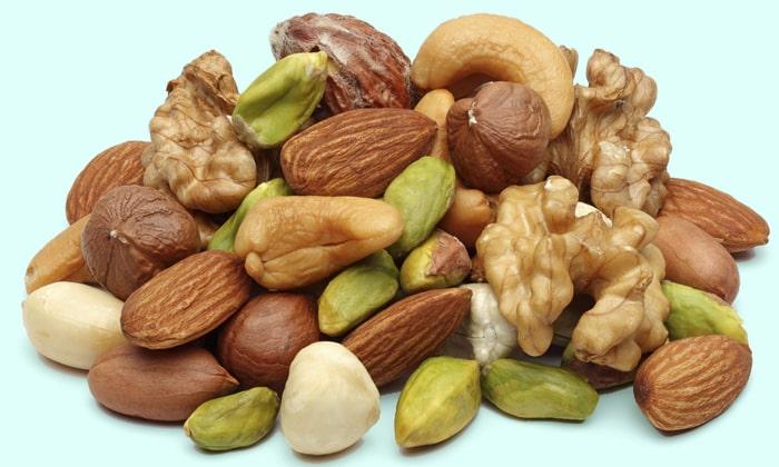 Витамин содержится в орехах