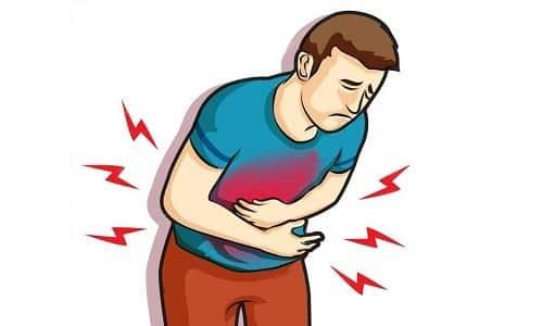 Боль в животе – один из побочных эффектов от длительного приема сорбентов (более 10 дней)