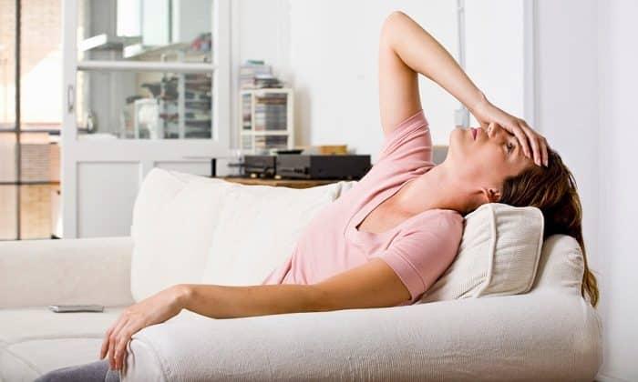 Побочным эффектом может быть появление усталости