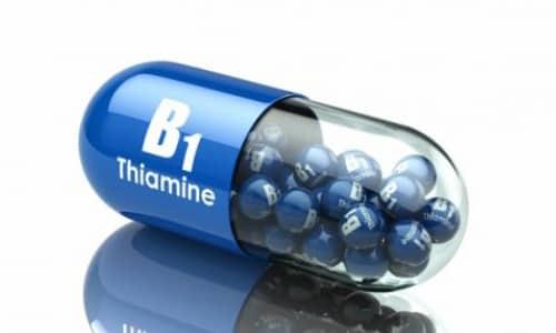 Тиамина бромид выпускается в таблетированной форме 2,58 мг, 6,45 мг, 12,9 мг