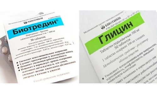 Глицин и Биотредин назначают с целью нормализации психического состояния пациента, подвергающегося систематическому стрессовому воздействию