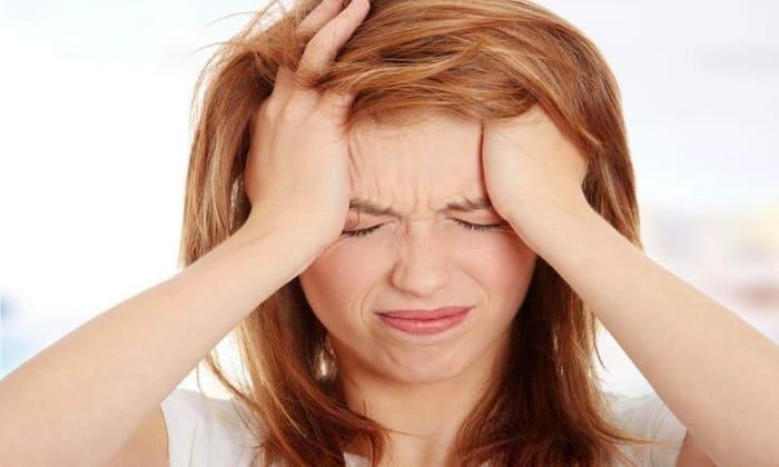 Побочным эффектом от препарата может быть головная боль