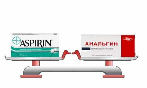 В чем разница между Анальгином и Аспирином?