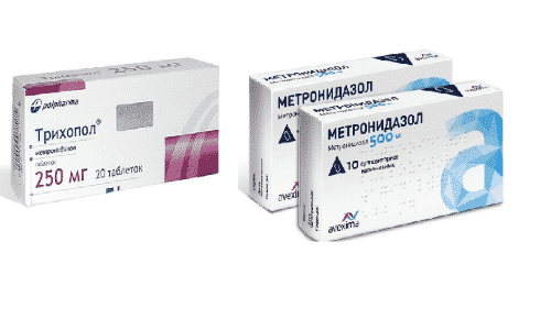 Трихопол и Метронидазол часто назначают для избавления от паразитов в организме и инфекционных заболеваний