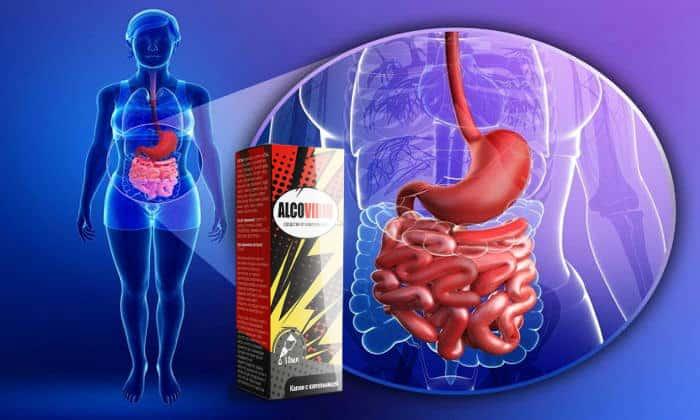 Благодаря Алковирину нормализуется пищеварительная функция
