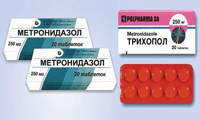 Метронидазол и трихопол одно и тоже — paraziti