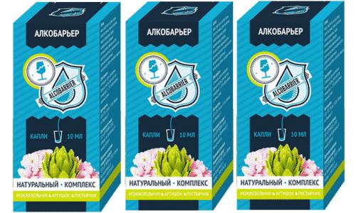 Капли АлкоБарьер употребляются в чистом или растворенном в воде или других напитках виде. Терапевтический курс составляет 1 месяц, при необходимости его можно повторить
