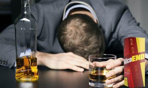 Алкоэнд советуют принимать, если человек быстро пьянеет даже от небольшой дозы алкоголя