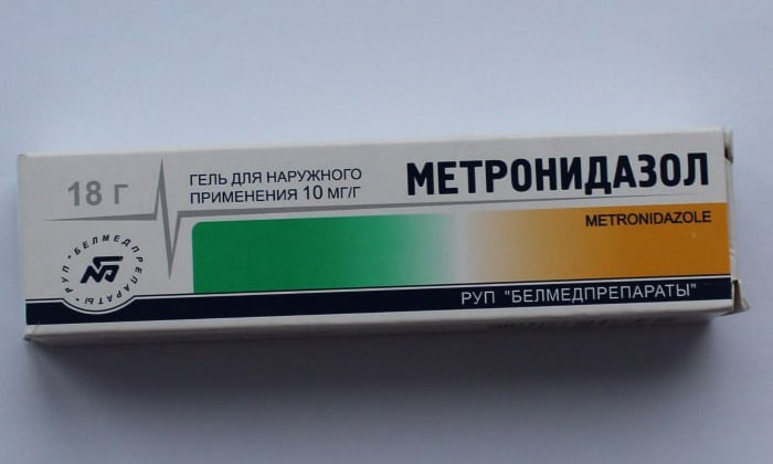 Метронидазол выпускается в форме геля