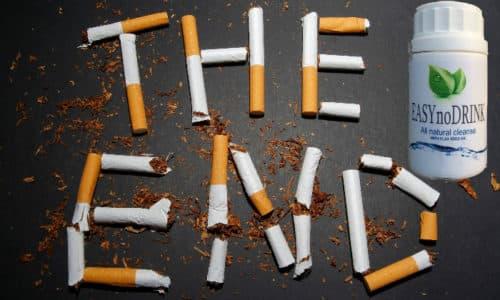 Врачи считают, что если бросить курить, то уменьшится и желание выпить