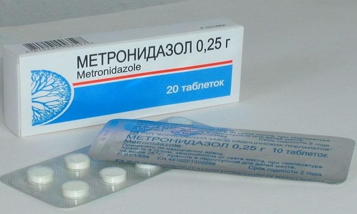 Метронидазол выпускается в форме таблеток