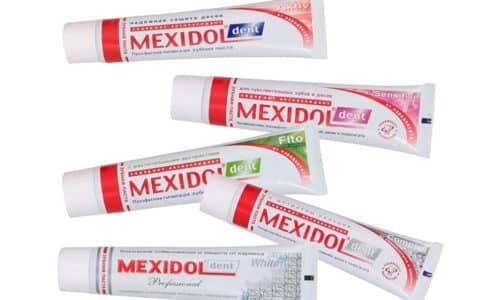 Случаев передозировки Мексидол Дент ранее выявлено не было